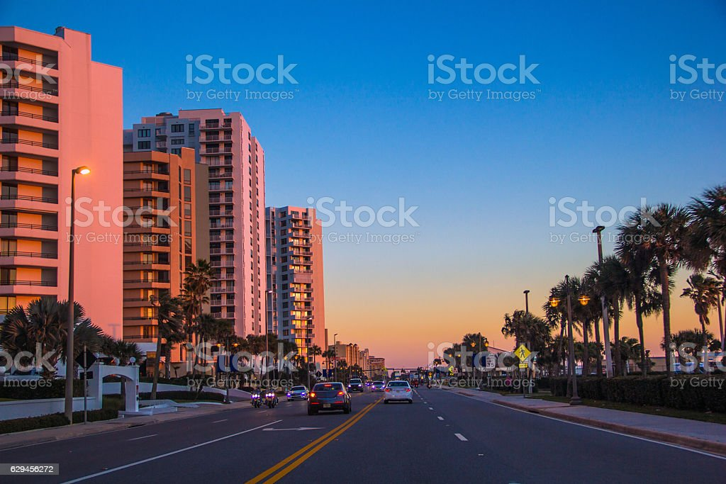 Daytona Beach Florida stock photo