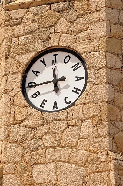 Daytona Beach Old Clock Tower stock photo