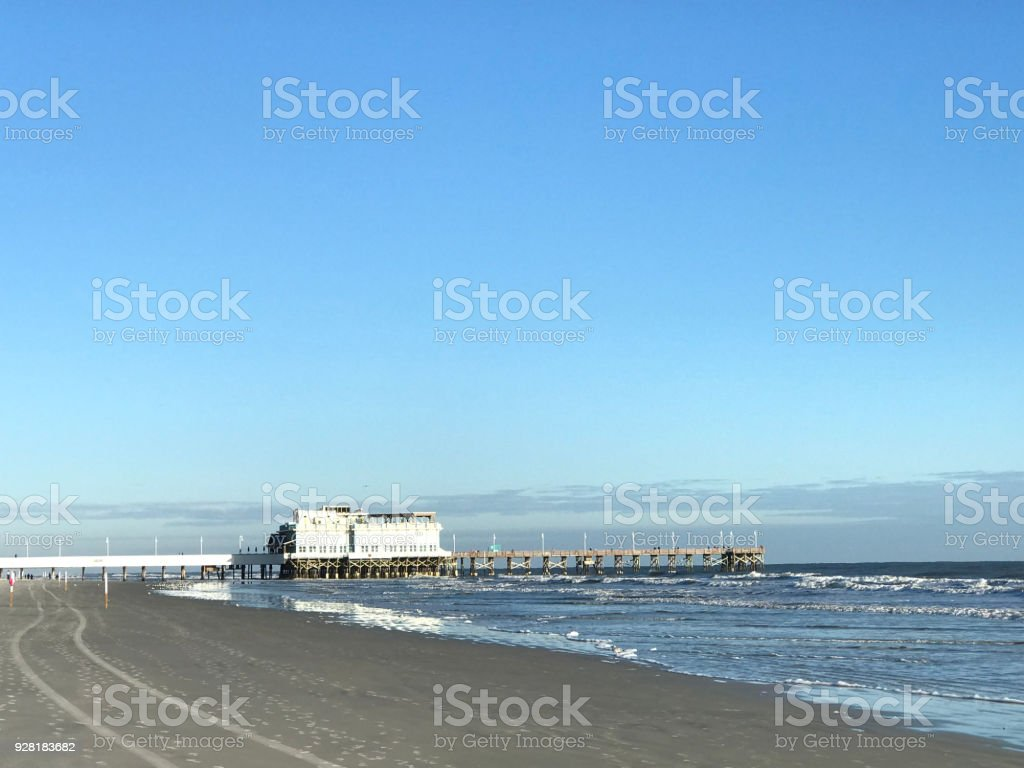Daytona Beach Pier in the morning. Photo Image stock photo