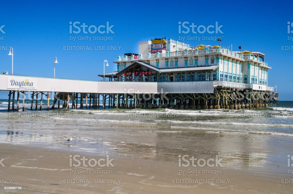 Daytona Beach Pier stock photo