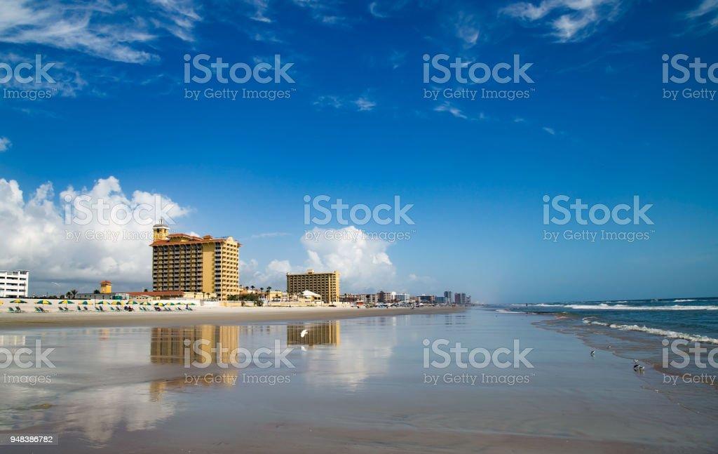 Daytona Beach View stock photo