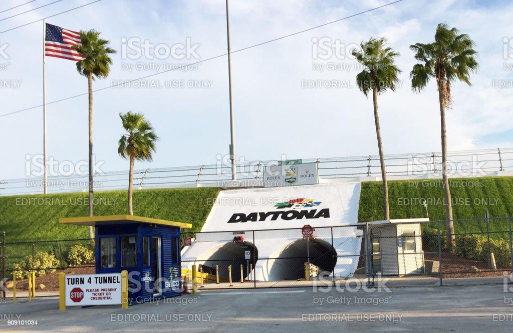 Daytona Internaitonal Speedway stock photo