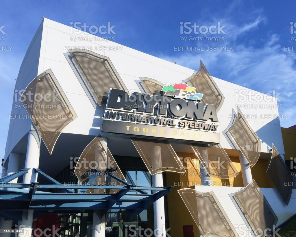 Daytona International Speedway stock photo