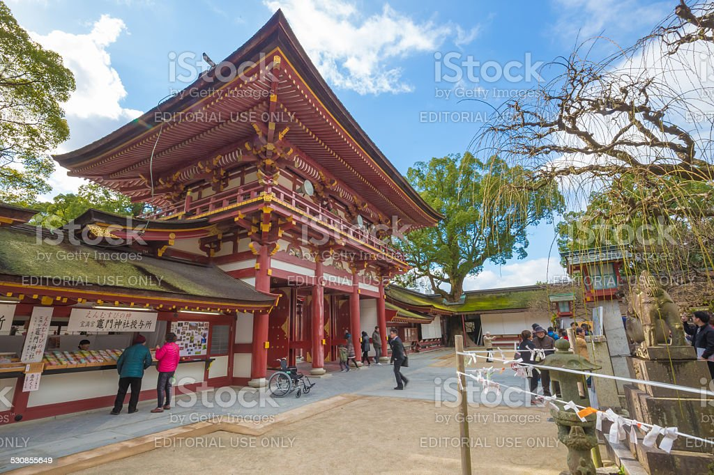 dazaifu shrine in fukuoka japan stock photo amp more