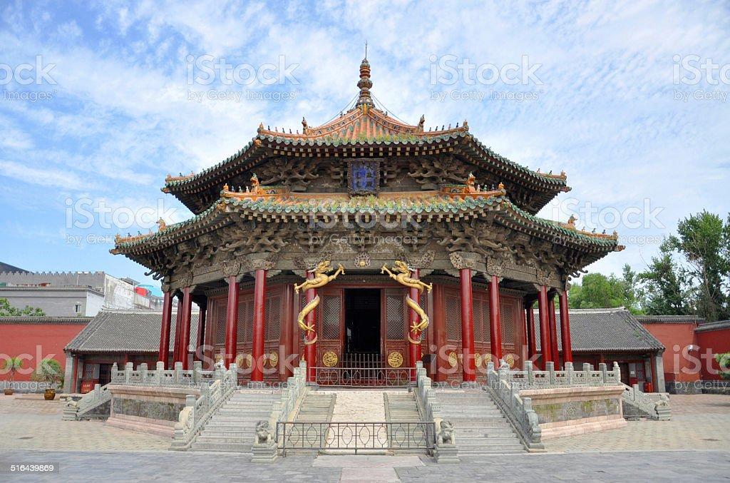 Dazheng Hall, Shenyang Imperial Palace, China stock photo