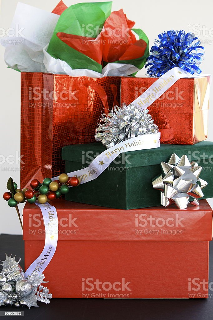 Dazzle Gifts royalty-free stock photo
