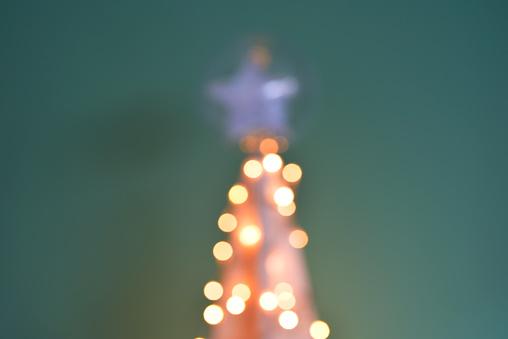 Decoration Lumineuse Sapin De Noel Stock Photo Download Image Now Istock