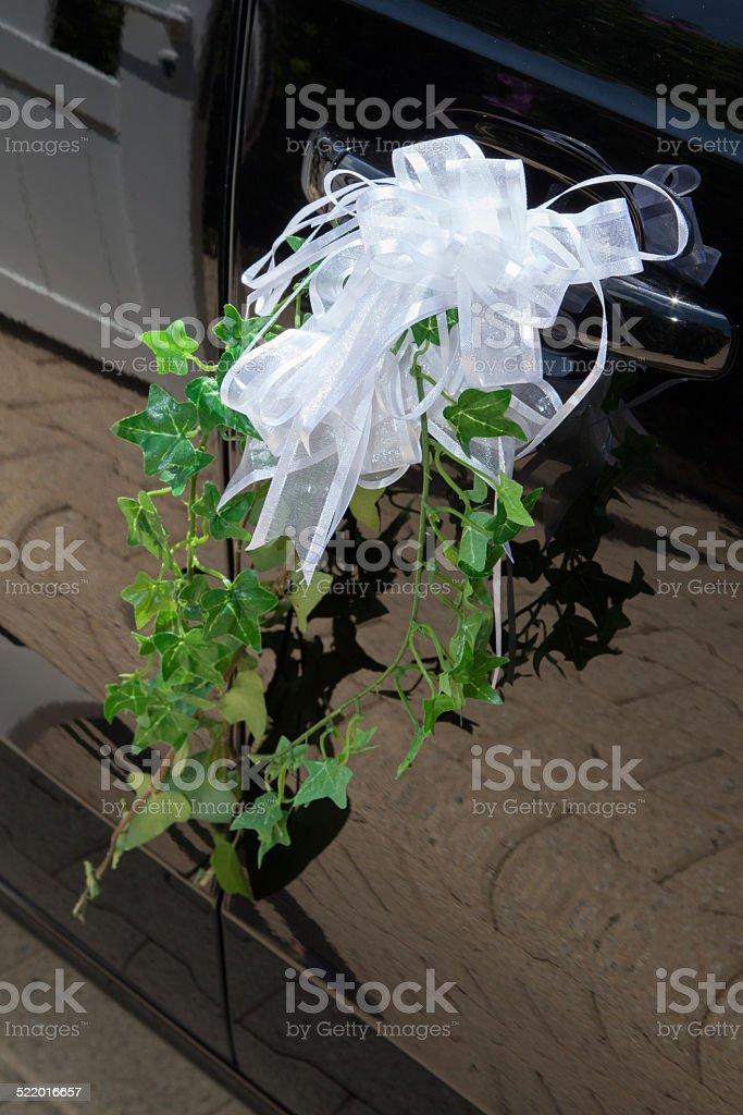 décoration sur portière stock photo
