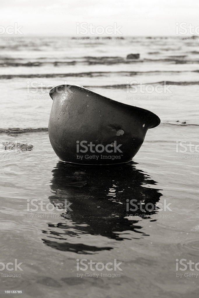 D-Day Beach. stock photo