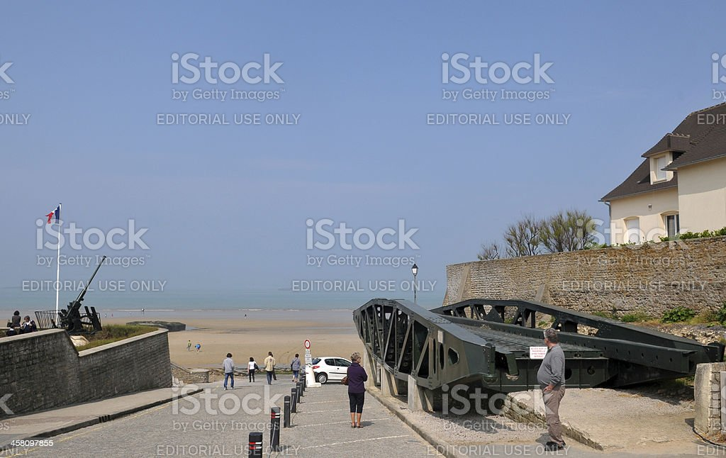 D-Day Museum royalty-free stock photo