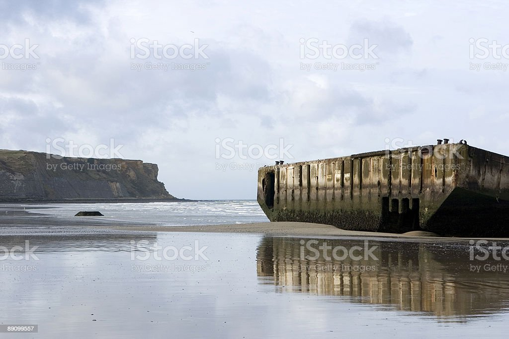 D-Day  - Normandy, France I royalty-free stock photo