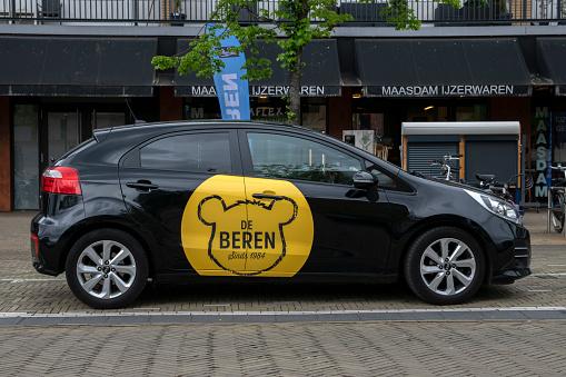 De Beren Company Car At Diemen The Netherlands