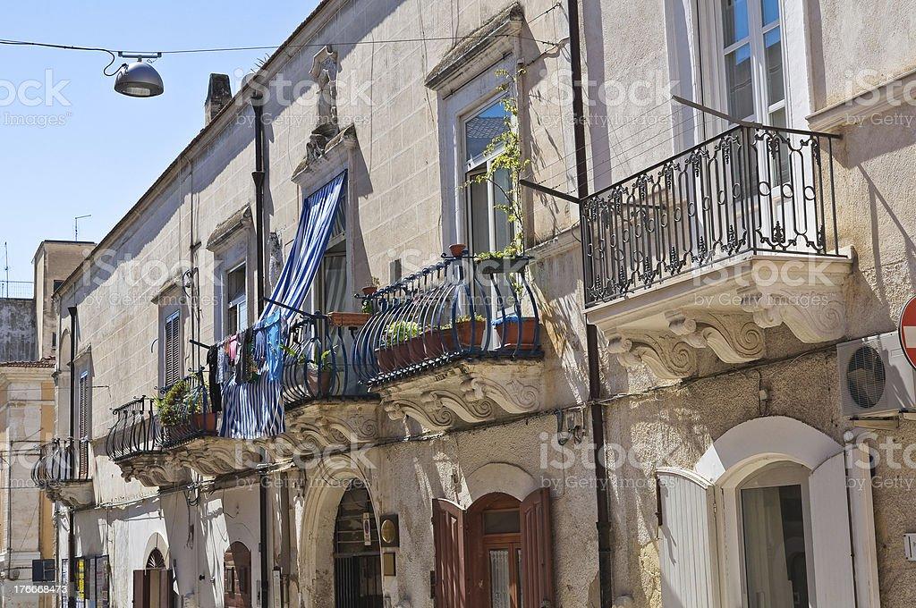 De Florio Palace. Manfredonia. Puglia. Italy. royalty-free stock photo