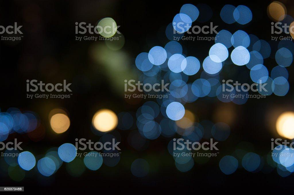 De focused/Blurred image of lights. Blur lights. Light bokeh. foto de stock royalty-free