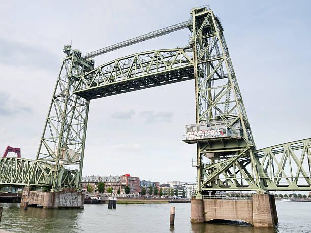 De Hef Bridge stock photo