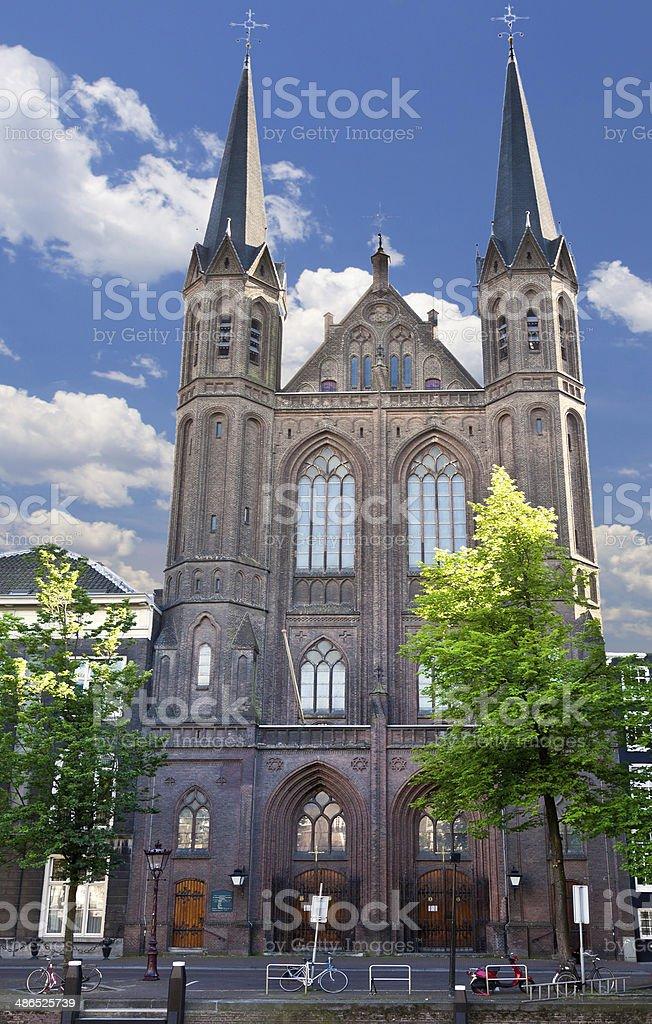 De Krijtberg Kerk, Amsterdam. royalty-free stock photo