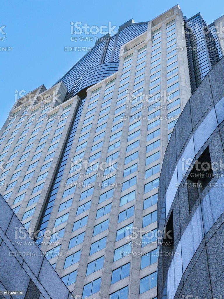 1000 de la Gauchetiere Tower stock photo
