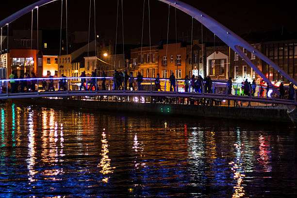 De Lacy Bridge River Boyne Drogheda stock photo