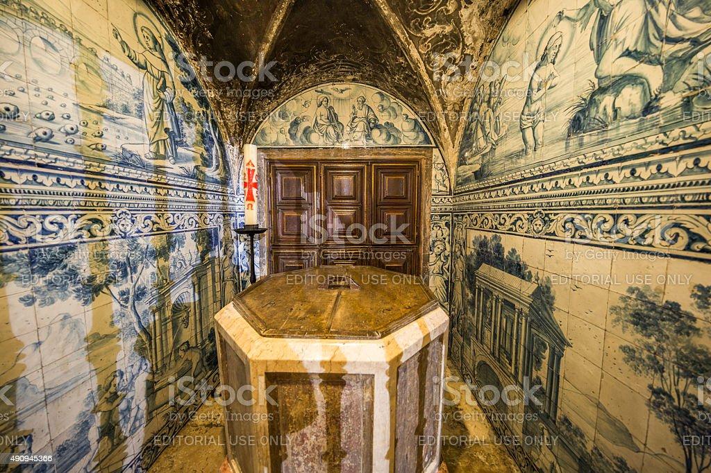 Sé de Lisboa - the Cathedral of Lisbon, Portugal stock photo