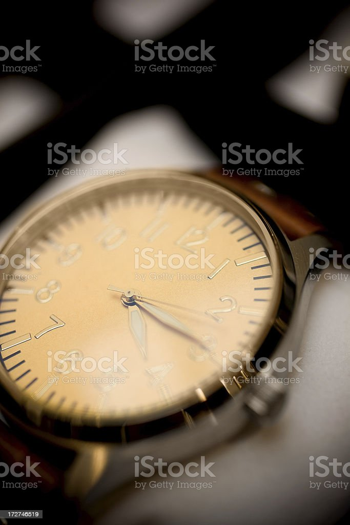 De luxe clock watch royalty-free stock photo