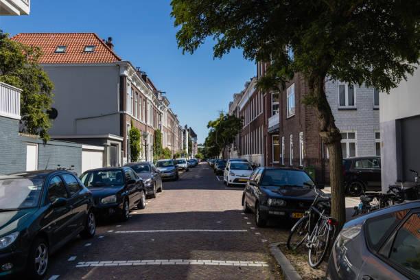 De Ruijter Street As seen from Laan van Meerdervoort stock photo