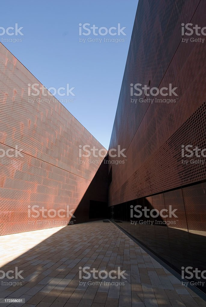 De Young Museum royalty-free stock photo