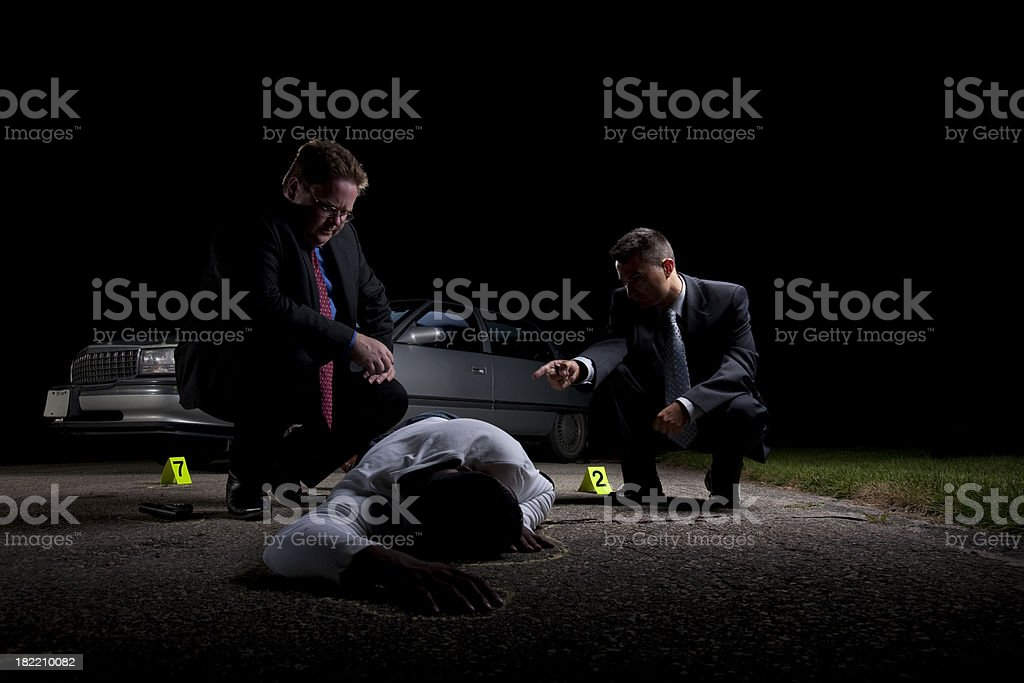 Dead Body royalty-free stock photo