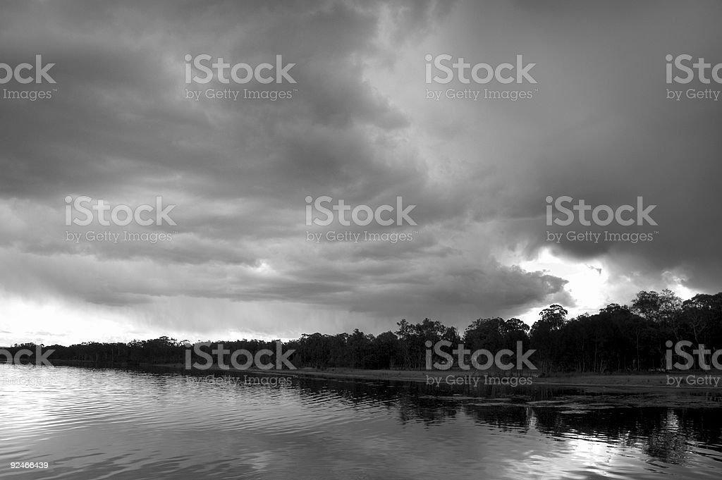 dead calm stock photo
