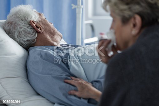 886711404 istock photo Dead elderly man 928999264