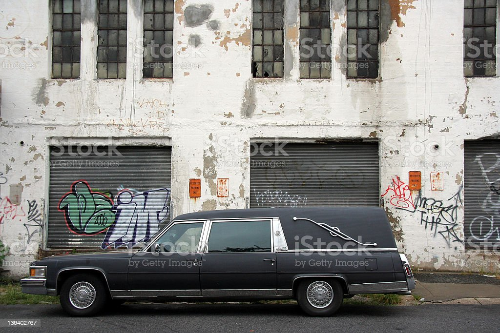 Dead end in Brooklyn stock photo
