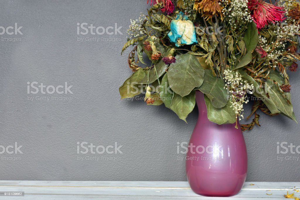 Dead Flower Bouquet Stock Photo & More Pictures of Beauty   iStock