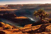 istock Dead Horse Point over Colorado River and Canyonlands at sunset – Utah, USA 1203253745