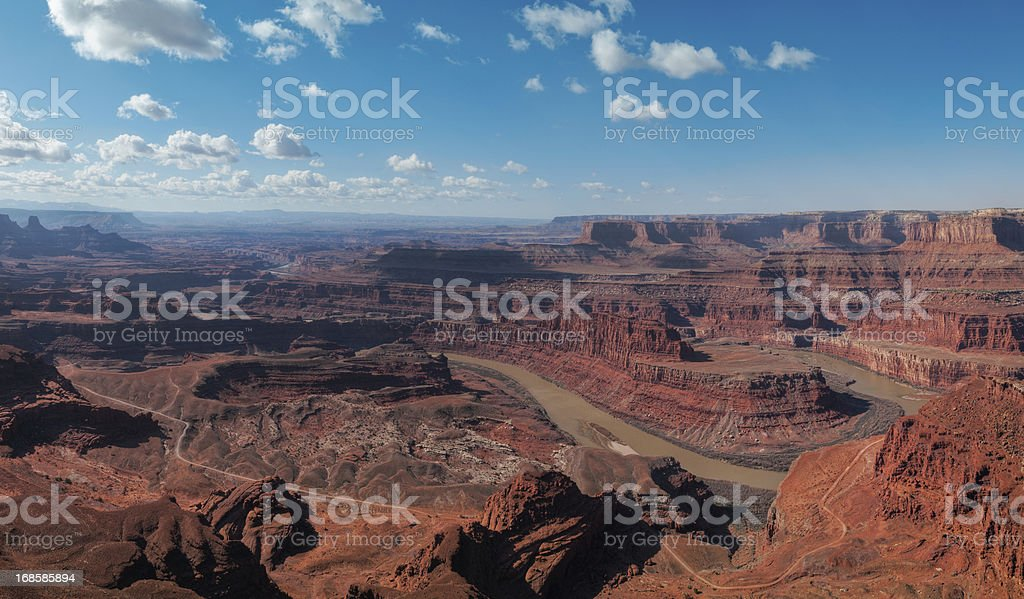 Dead Horse Point State Park, Canyonlands, Moab, Utah, USA stock photo
