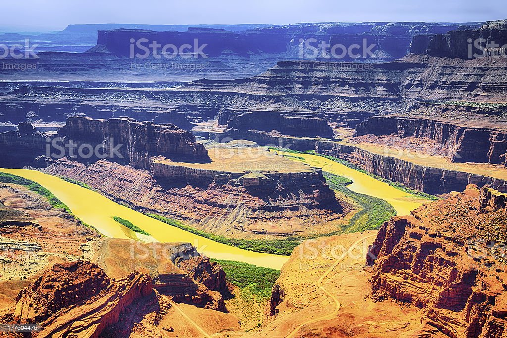 Dead horse point state park stock photo