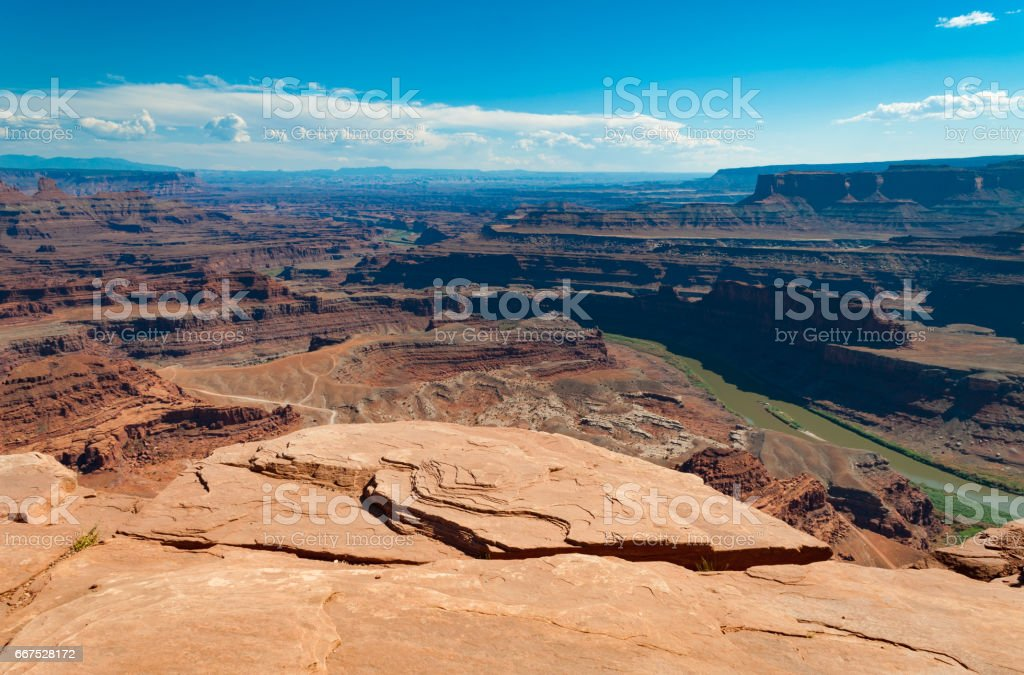 Dead Horse Point State Park, Utah foto stock royalty-free