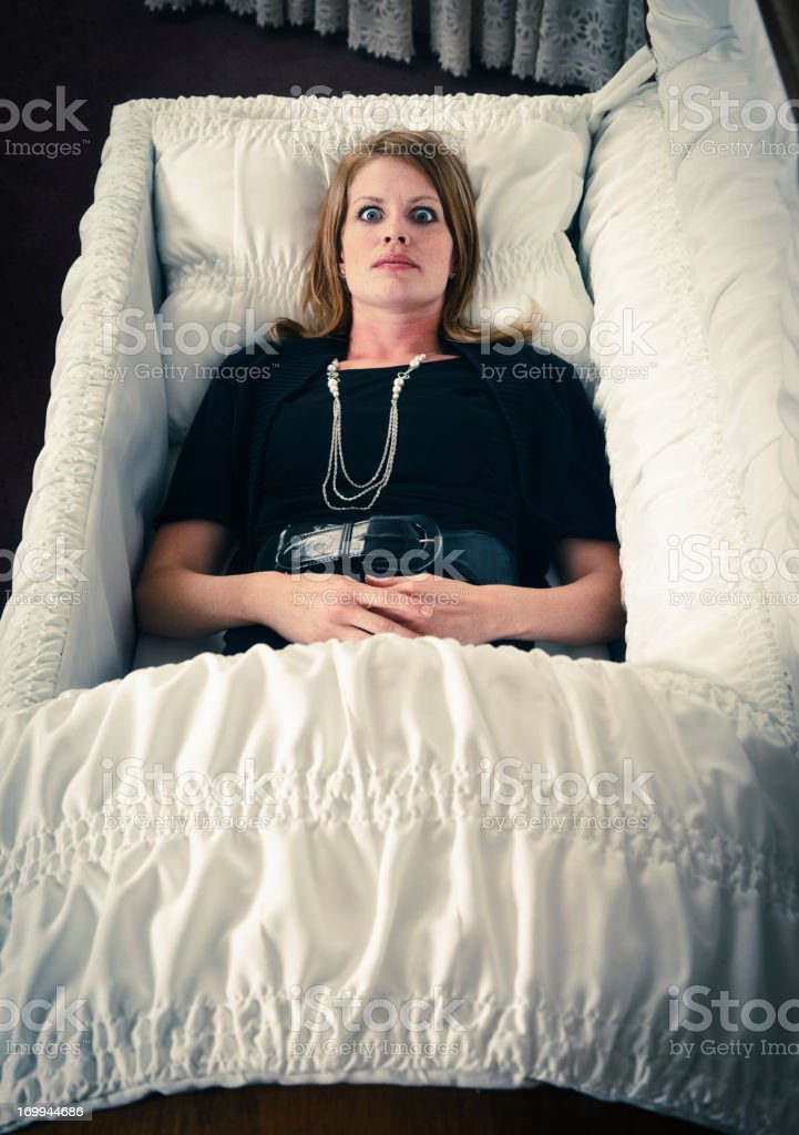 Dead or Alive royalty-free stock photo