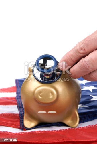 Dead Piggy Bank Stock Photo & More Pictures of Coin Bank