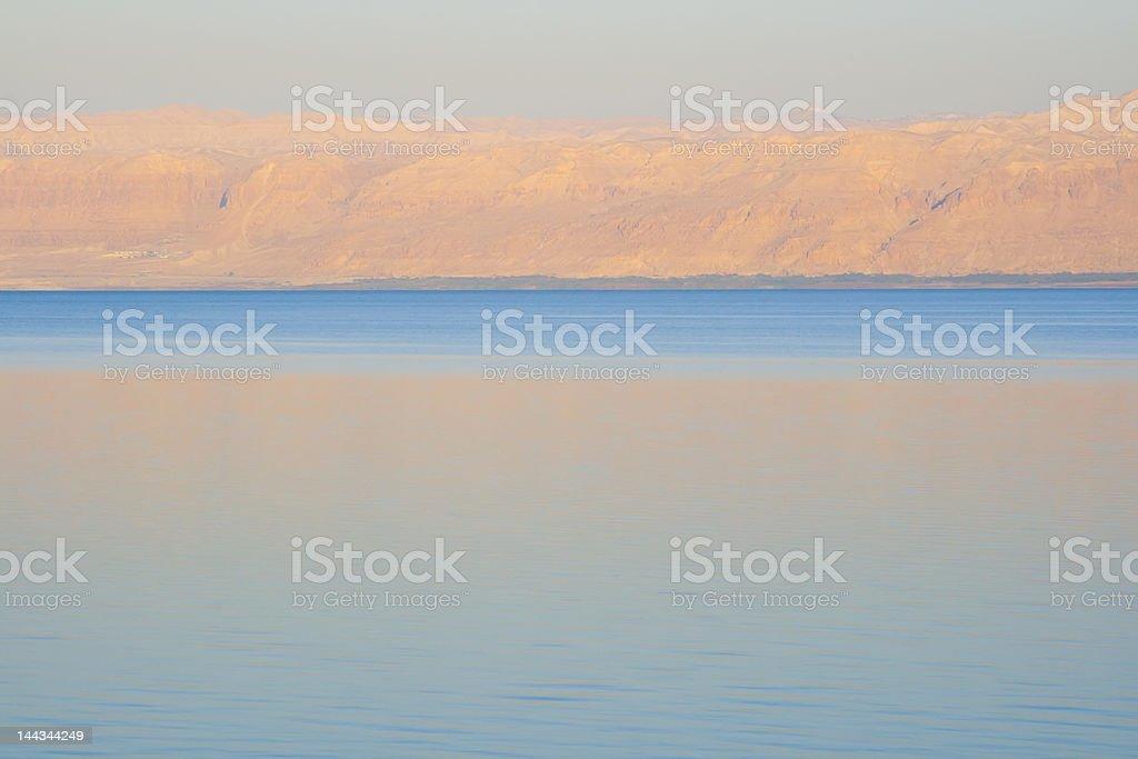 Dead Sea at Dawn royalty-free stock photo