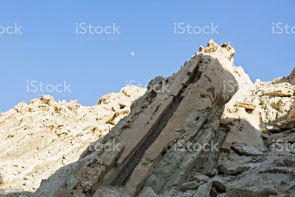 dead sea cliffs royalty-free stock photo