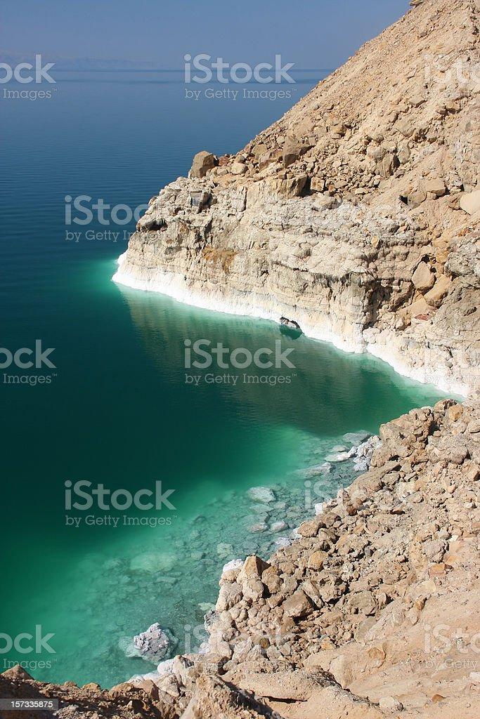 Dead sea coast royalty-free stock photo