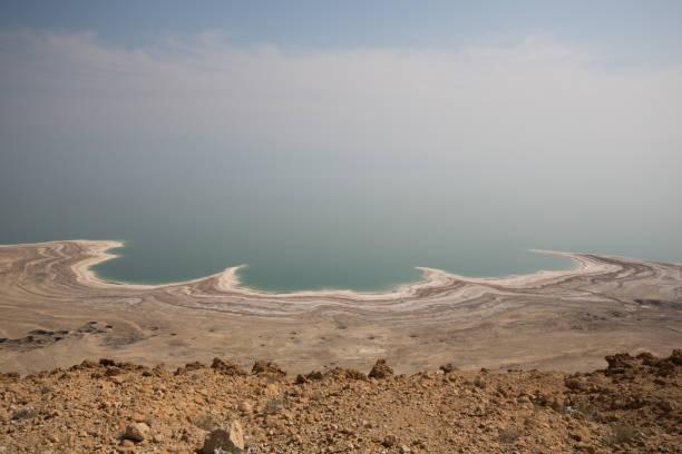 Dead sea in Israel stock photo