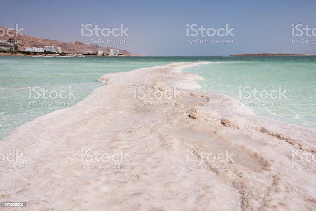 Dead sea, Israël. photo libre de droits