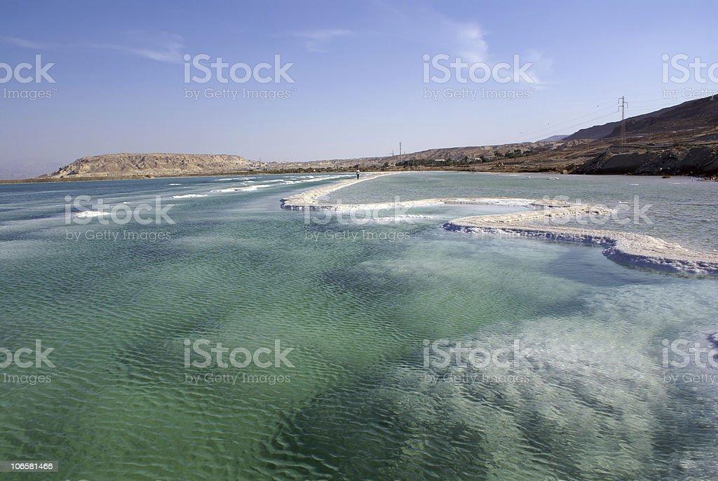 Dead sea royalty-free stock photo