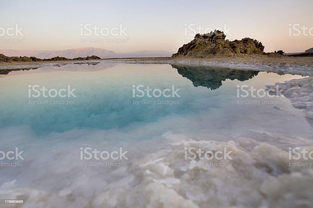 Dead sea royalty-free stock photo