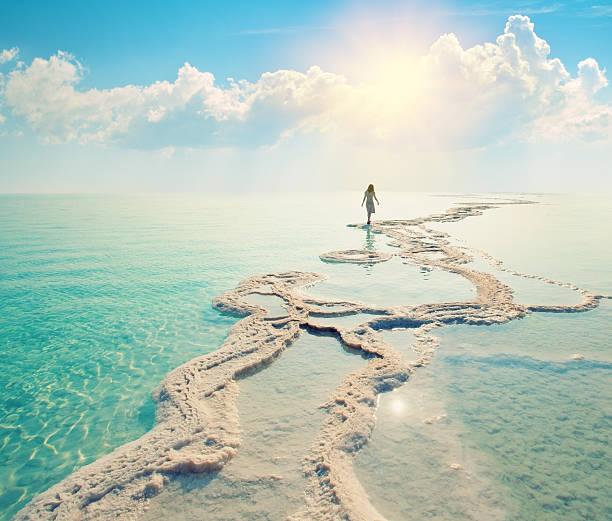 mar morto - israel - fotografias e filmes do acervo