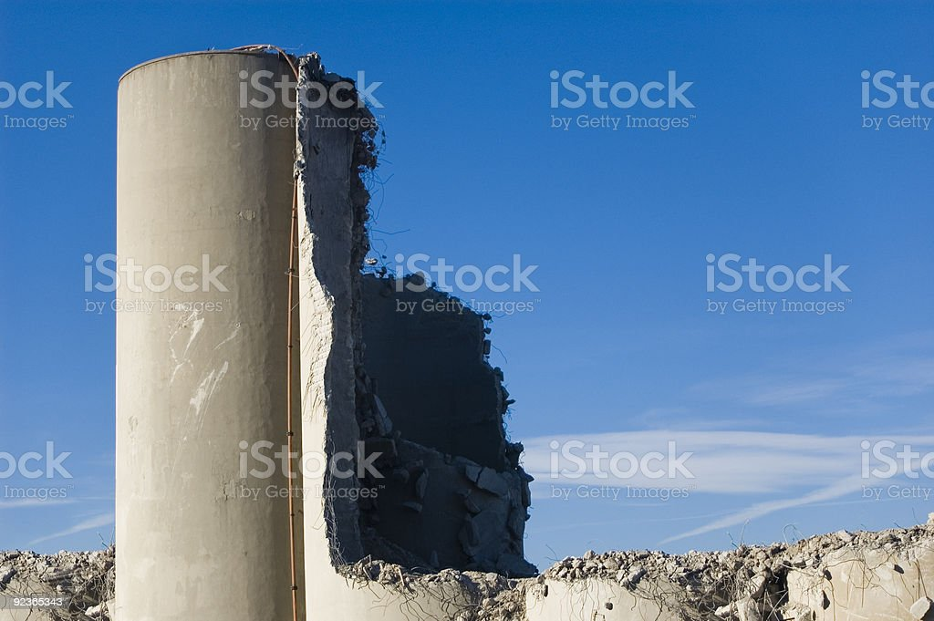 Dead tower royalty-free stock photo