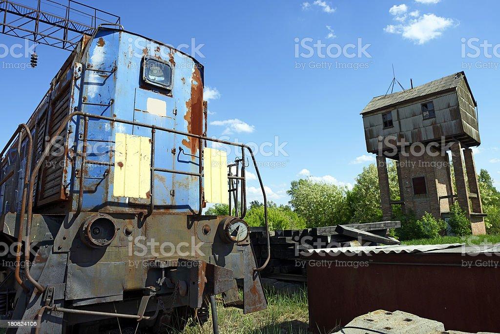 Dead Züge von Tschernobyl (Pripyat) - Lizenzfrei Atomkraftwerk Stock-Foto