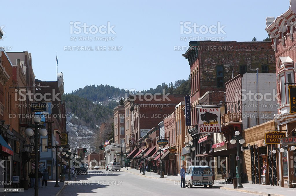 Deadwood stock photo