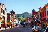 Historic town - Deadwood, South Dakota, USA