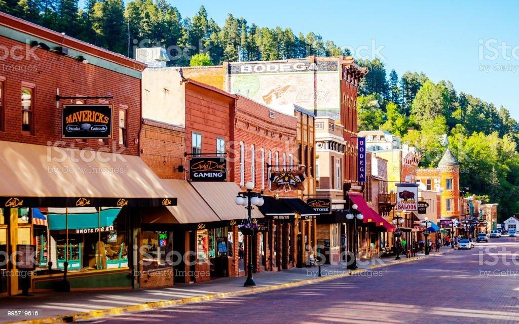 Deadwood, South Dakota royalty-free stock photo